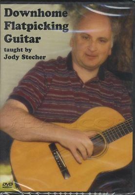 Downhome Flatpicking Guitar by Jody Stecher Learn How To Play Tuition DVD
