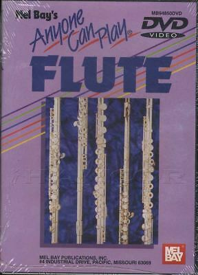 Anyone Can Play Flute Learn How to Play Tuition DVD Lisa R Wright