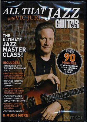 Vic Juris All That Jazz Guitar Tuition DVD Master Class