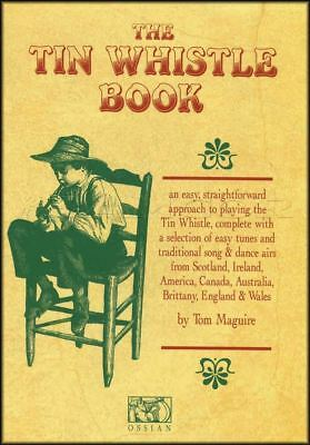 The Tin Whistle Book Sheet Music Book Learn How To Play Method Songs Tunes