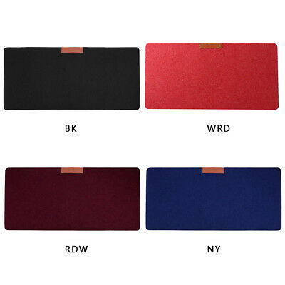 Soft Wearable Office Computer Desk Modern Table Wool Felt Large Mouse pad Gaming