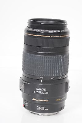 Canon EF 70-300mm f4-5.6 IS USM Lens 70-300/4-5.6                           #557