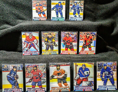 2018 2019 Upper Deck Tim Hortons Collectors Series Top Line Talent