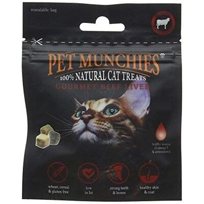 Haustier Munchies Rindfleisch Leber Katze Behandelt, 10 G - Pet Gourmet Treats