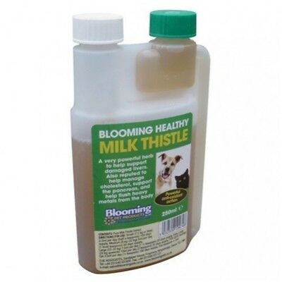 Equimins Blooming Pet Milk Thistle Liquid x 250ml - Cat Dog Supplements
