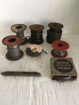 Vintage Tools!  Lot Of Soldering Wite And Metal Tool