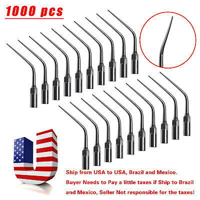 1000* Dental Endodontic Scaler Tips E3 for EMS Woodpecker UDS Ultrasonic Scalers