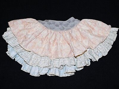 PERSNICKETY Girls Heirloom Lily Skirt Pink Perfect for TWIRLING Size 2T #248