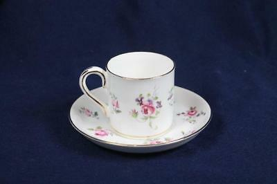 """CROWN STAFFORDSHIRE 2-1/4"""" DEMI CUPS & 4-3/4"""" SAUCERS SET OF 8 plus 3 extra cups"""