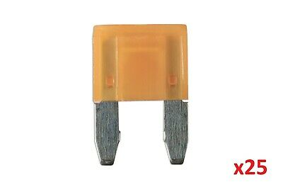 5Amp Led Mini Blade Fuse Pk 25 | Connect 37169