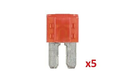 10Amp Led Micro 2 Blade Fuse 5 Pc Connect 37149