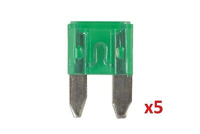 Connect 36840 30amp Mini Blade Fuse Pk 5