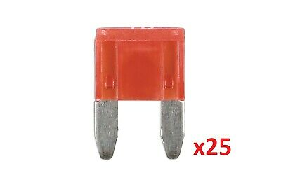10Amp Led Mini Blade Fuse Pk 25 Connect 37171