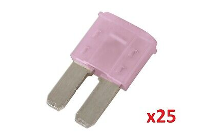 Connect 37176 3amp LED Micro 2 Blade Fuse Pk 25