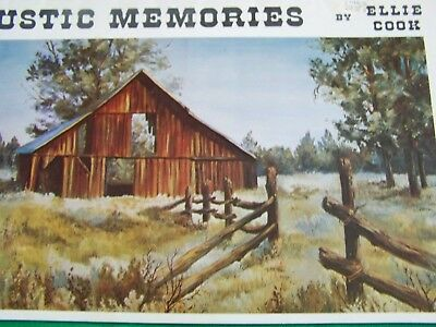 Rustic Memories By Ellie Cook  Scheewe Oil Landscapes Tole Paint Book