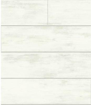 York Wallcoverings MH1560 56'sq. Shiplap by Joanna Gaines Pre-Pasted Wallpaper