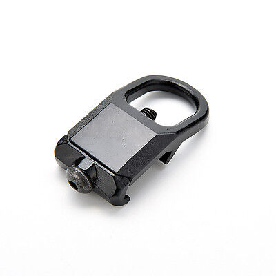 Sling Mount Plate Adaptor Attachment fits 20mm Picatinny Rail Adapter Black PEH