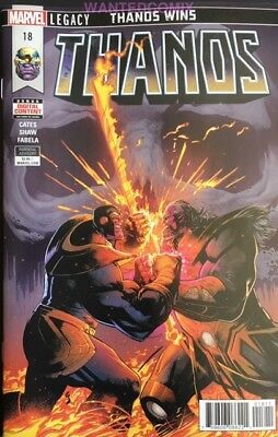 Thanos #18 Donny Cates Sold Out Marvel Comic Book Cosmic Ghost Rider Apr 2018 1