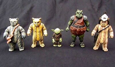 """VINTAGE STAR WARS REPRODUCTION EWOK WICKET SPEAR for 3.75/"""" ACTION FIGURES"""