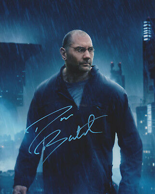 DAVE BAUTISTA Guardians of the Galaxy Drax Actor SIGNED 8x10 Photo c