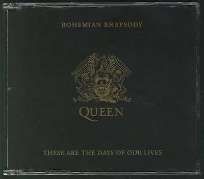 QUEEN Bohemian Rhapsody-These Are The Days Of Our Lives CD-HOLLAND AIDS RELIEF