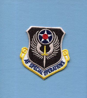 AIR FORCE SPECIAL OPERATIONS COMMAND SOC USAF Squadron Jacket Hat Patch