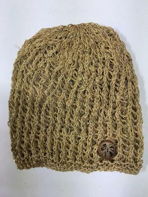 9cc9824eeb0fd6 Hippie Boho Festival Handmade Nepal Knit Hemp and Cotton Peace Head Sock Hat