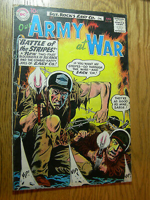 Our Army At War #95 VG 2 part Sgt rock tale