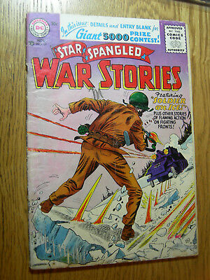 Star Spangled War Stories #51 FA Soldier on ice !