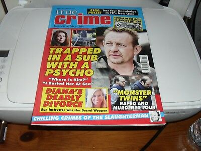 True Crime  Detective Monthly  August  2018 New