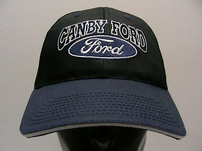 Canby Ford - Black & Blue - One Size Adjustable Ball Cap Hat