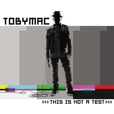 Toby Mac - This Is Not A Test CD 2015 Forefront Records ** NEW **