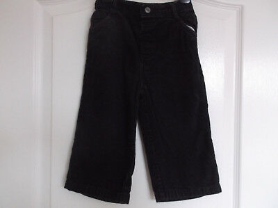 Boys age 12-18 Months Blue Cord Trousers Matalan