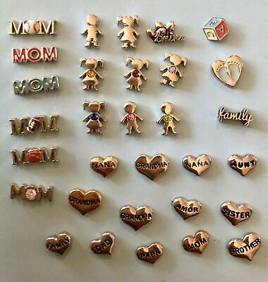 Origami Owl FAMILY/KIDS Charms