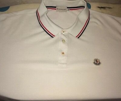 7ebd2a2a Moncler Polo Shirt Used But Still Got Loads Of Life Left In It 100% Real