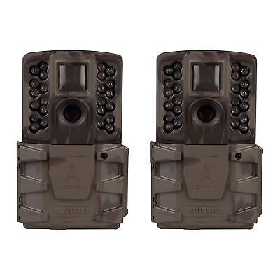 (2 Pack) New 2018 Moultrie A-40 Pro Infrared 14MP Game Trail Security Camera
