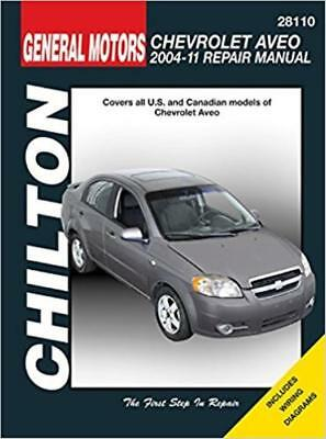 Chilton Workshop Manual Chevrolet Aveo 2004-2011 Service & Repair Chevy Aveo