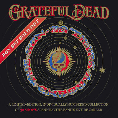 Grateful Dead: 30 Trips Around The Sun- New & Sealed 80 CD Ultimate Box Set NRFB
