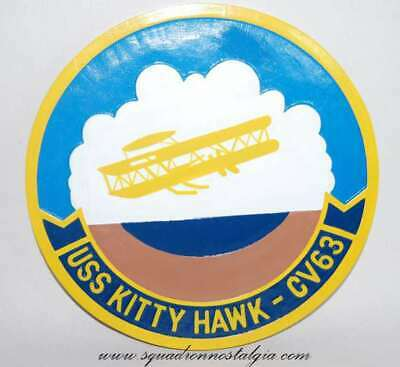 USS Kitty Hawk CV-63 Plaque
