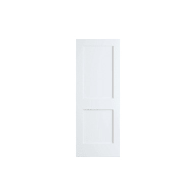 Frameport SHK-PD-F2P-6-2/3X2-1/2 Shaker 30 Inch by 80 Inch Flat 2 Panel Interior