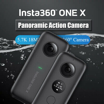 Insta360 One X 5.7K 18Mp 360°Action Camera For Iphone Huawei Samsung Xiaomi D3V3