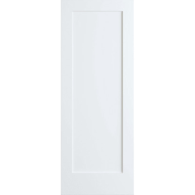 Frameport SHK-PD-F1P-6-2/3X2-1/3 Shaker 28 Inch by 80 Inch Flat 1 Panel Interior