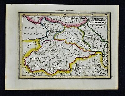 1832 Murphy Map Ancient Armenia Albania Iberia Iran Georgia  Ancient Middle East