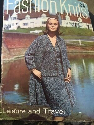 FASHION KNITS No 10  by P&B 1964 Anniversary Issue Leisure And Travel