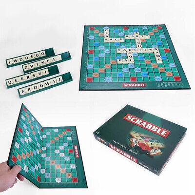 Scrabble Board Game Family Kids Adult Educational Toys Puzzle Games UK