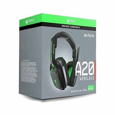 ASTRO Gaming A20 Wireless Headset Green
