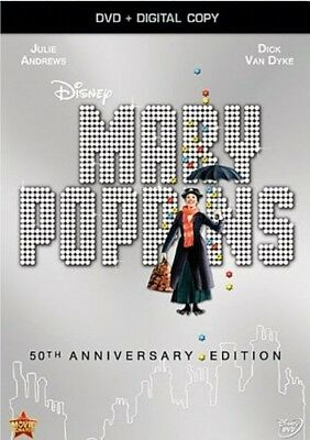 Disney Mary Poppins Classical Fantasy Movie-50th Anniversary Edition (DVD-New)