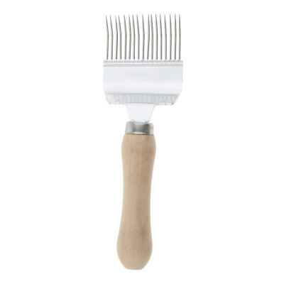 Stainless Steel Comb Uncapping Fork Scratcher Honey Bee Beekeeping Tools