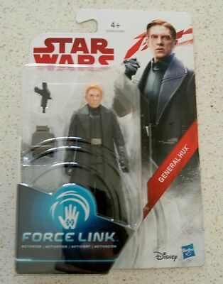"Star Wars The Last Jedi Force Link General Hux 3.75"" Action Figure"