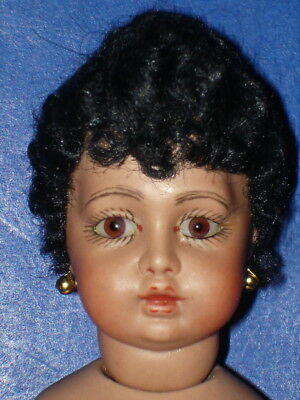 "Artist Cathy Hansen BEBE BRU 6 1/2"" Reproduction Miniature Doll 1998"